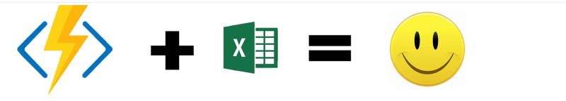 Using Azure Functions in Excel